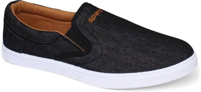 cde59a63bb7966 Sparx Men SM-402 Black Slip On Sneakers For Men - Buy Sparx Men SM ...