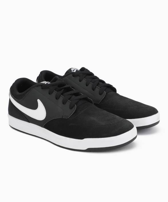 1600bdb6be84 Nike SB FOKUS Sneakers For Men - Buy BLACK WHITE Color Nike SB FOKUS ...