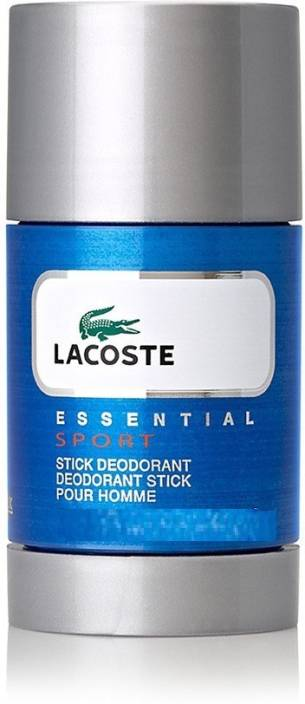 b57d433e32 Lacoste Essential Sport Pour Homme Deodorant Stick - For Men & Women (74 ml)