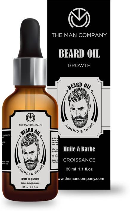 8e8007e9bd0 The Man Company Beard Oil - Almond and Thyme Hair Oil - Price in ...