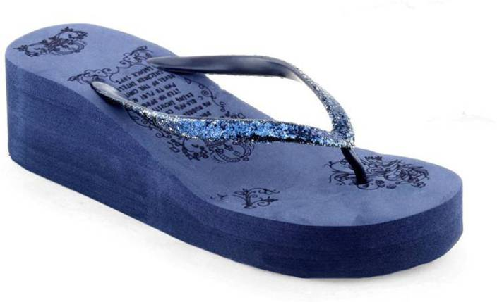 on feet images of best reliable quality Crostail Stylish Slippers for girls and women Flip Flops