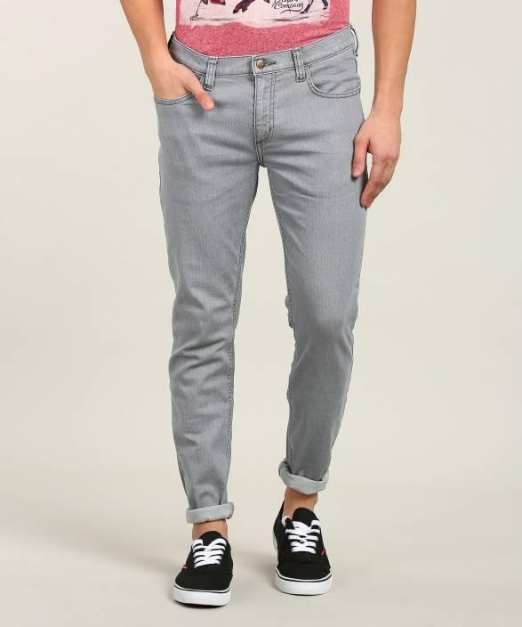 644b72e4 Lee Skinny Men's Grey Jeans - Buy Lee Skinny Men's Grey Jeans Online ...