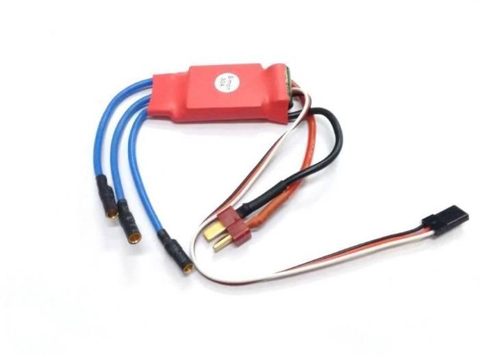 SunRobotics RC Simonk 30A ESC BEC Motor Speed Controller RC Brushless ESC  30 A Red
