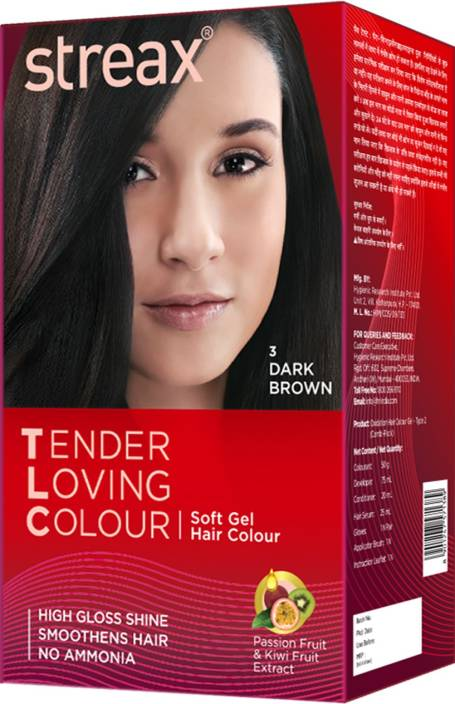 Streax Tender Loving Soft Gel Hair Colour Hair Color