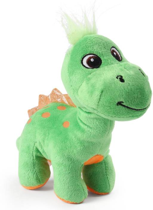 8631211a3f52 My Baby Excels Baby Dinosaur Plush Green colour 19 cm - 19 cm - Baby ...