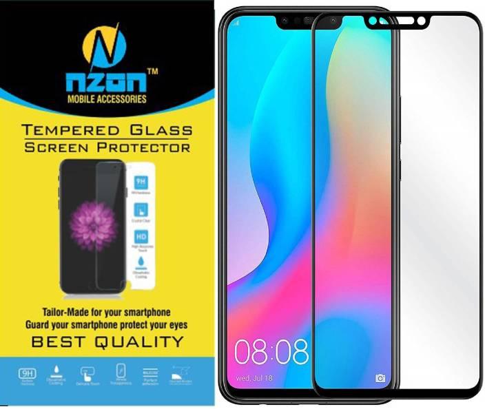 nzon Edge To Edge Tempered Glass for Huawei Nova 3i Tempered
