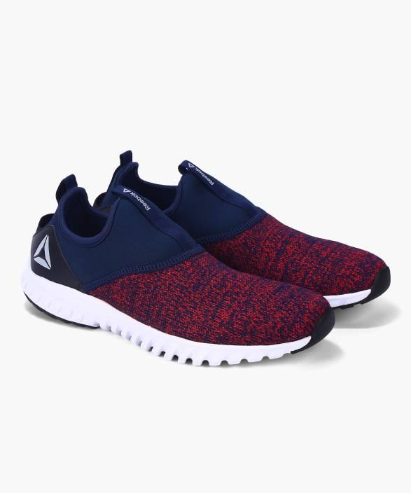 da06151ea REEBOK TEMPO SLIP ON Walking Shoes For Men - Buy COLL NAVY RED RUSH ...