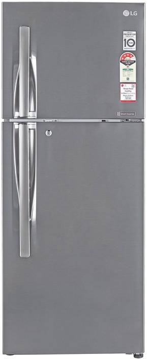 11011097a0b LG 260 L Frost Free Double Door 4 Star Refrigerator Online at Best ...
