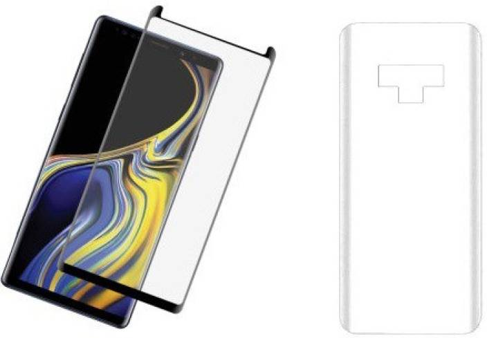 finest selection f67e1 1246a Midkart Front and Back Tempered Glass for Samsung Note 9 Full Glue ...