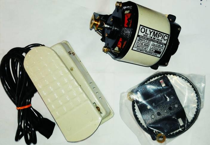 90c1a623f25 Olympic 1/12 Full copper cream motor Electric Sewing Machine ( Built-in  Stitches 0)