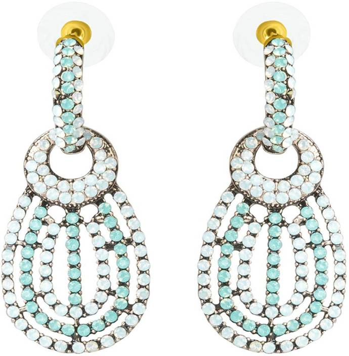 cdf02172b Flipkart.com - Buy saphira Jewellery Gold Plated Fancy Party Wear Earrings  for Lady, Wife, Teens Girl Gift Alloy Drop Earring Online at Best Prices in  India