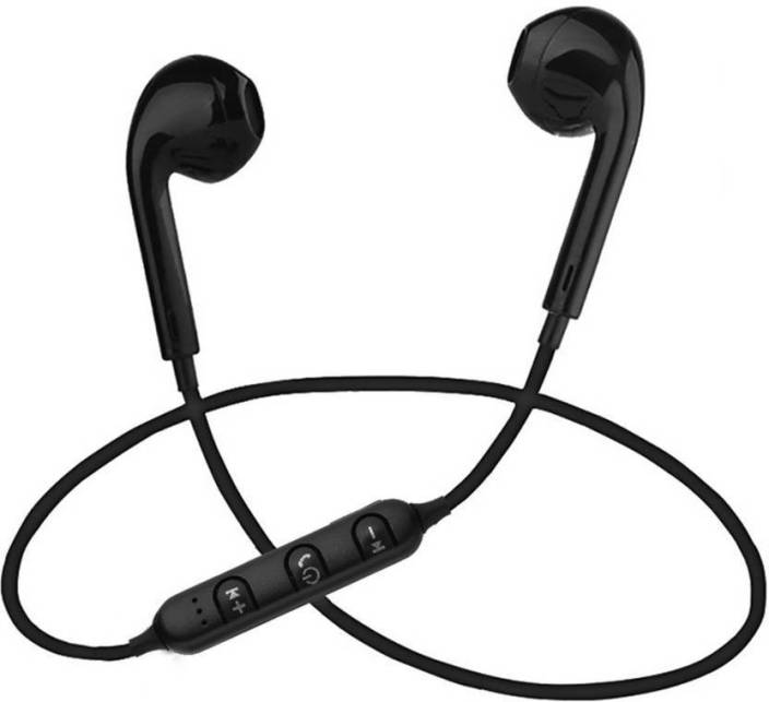 mobaccx s6 sports bluetooth handset Bluetooth Headset with Mic (Black, In the Ear)