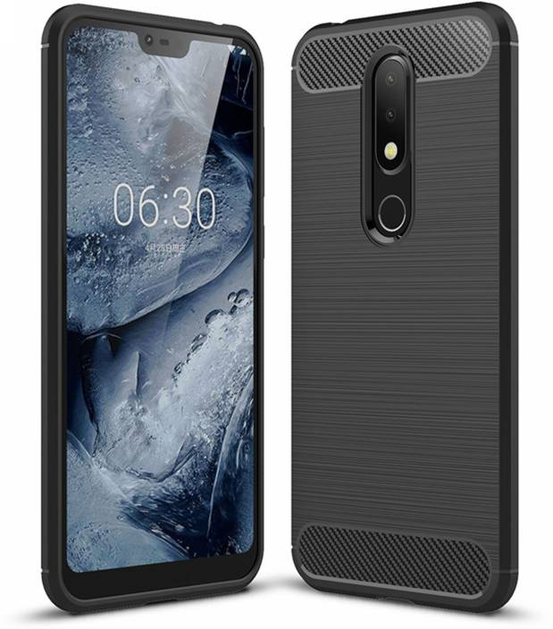 uk availability 948a6 0a8ac Flipkart SmartBuy Back Cover for Nokia 6.1 Plus