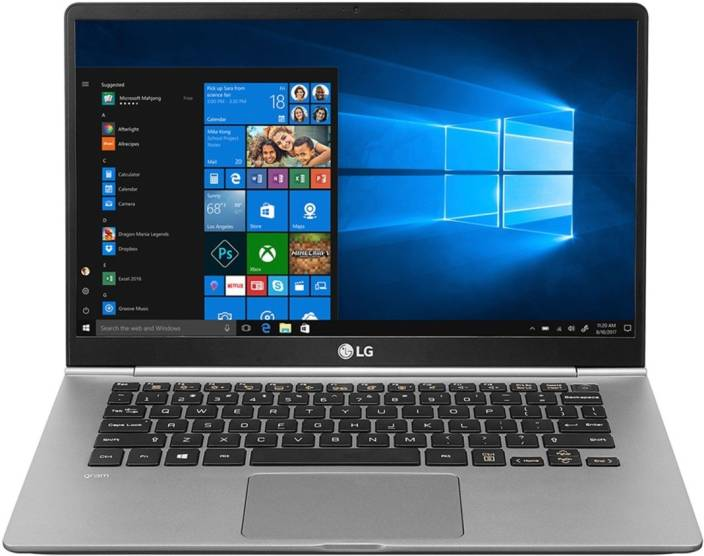26dc42b6b0ca63 LG Gram Core i5 8th Gen - (8 GB/256 GB SSD/Windows 10 Home) 14Z980 Laptop  (14 inch, Dark SIlver)