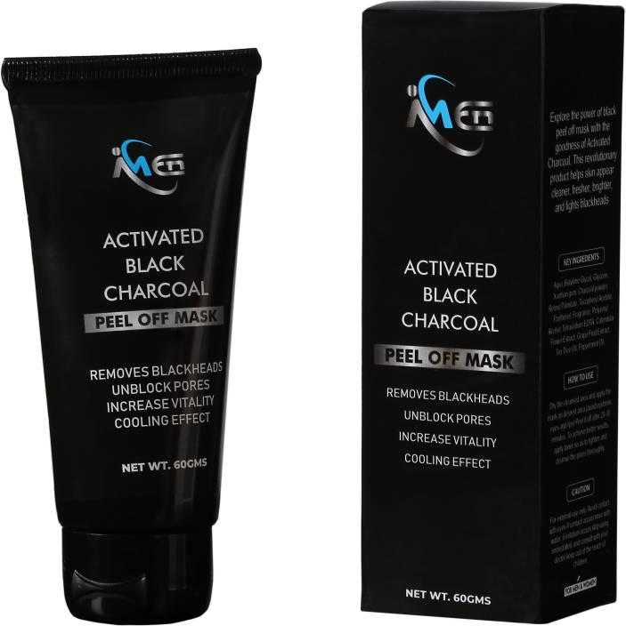 IMEN Black Charcoal Peel off Mask | Ultimate Blackhead Remover| Skin DeTox,  Deep Cleansing & Instant Glow (100% Natural)