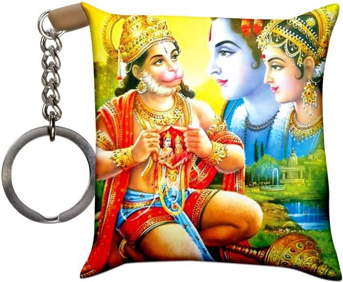 Crazyink Bhakti Of Hanuman Soft Cushion Pillow Key Chain Price In