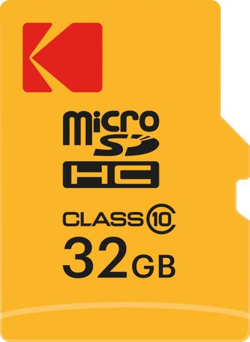 Kodak 32 GB SDHC Class 10 20 Mbps Memory Card