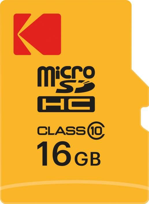 Kodak 16 GB SDHC Class 10 20 Mbps Memory Card