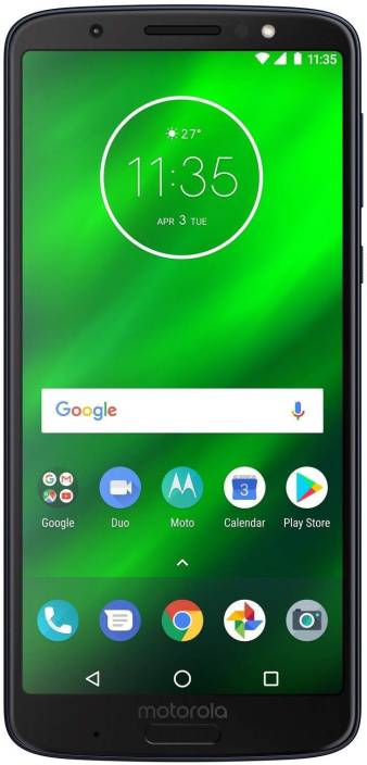 Moto G6 Plus (Indigo Black, 64 GB)