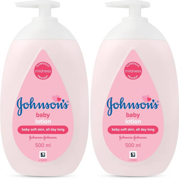 Johnson's New Lotion 500ml (Pack of 2)