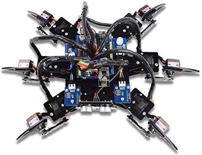 Genrc Adeept Hexapod 6-Legs Spider Robot Kit for Arduino UNO