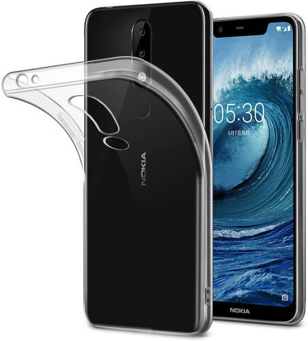 detailed look f75c7 5c19b Wellpoint Back Cover for Nokia 5.1 Plus Case Cover