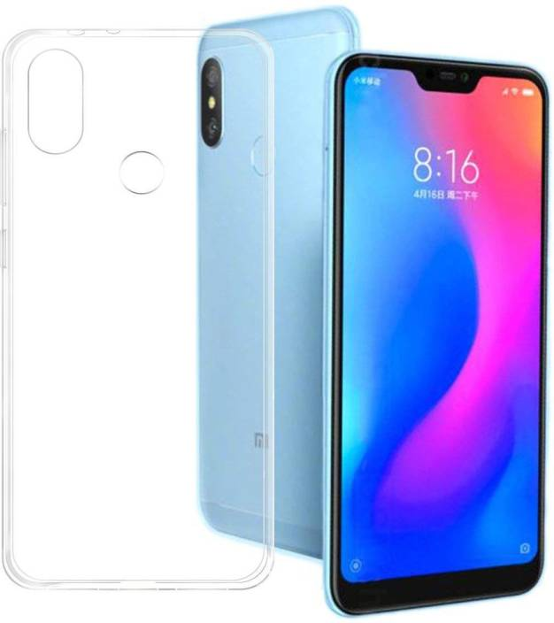 Changers Back Cover for Xiaomi Redmi 6 Pro (Transparent, Grip Case, Flexible Case