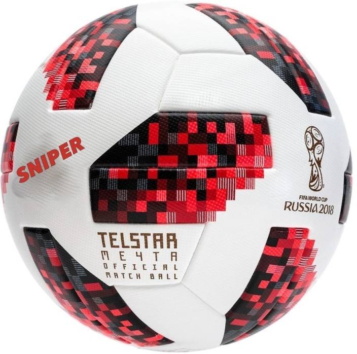 3d1de3c0f Sniper RUSSIA FIFA World cup 2018 Football - Size: 5 (Pack of 1, Red)