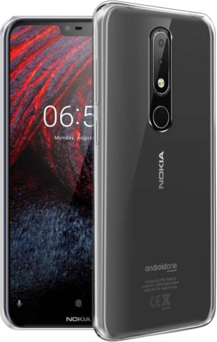 uk availability 4723e 06c31 Flipkart SmartBuy Back Cover for Nokia 6.1 Plus