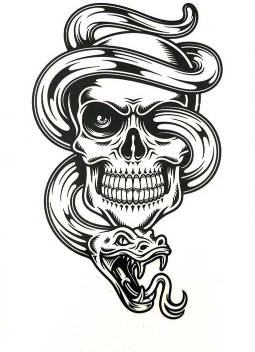 HG INTERNATIONAL Arm Hand Wrist Tattoo (3D Tattoo) - Price in India