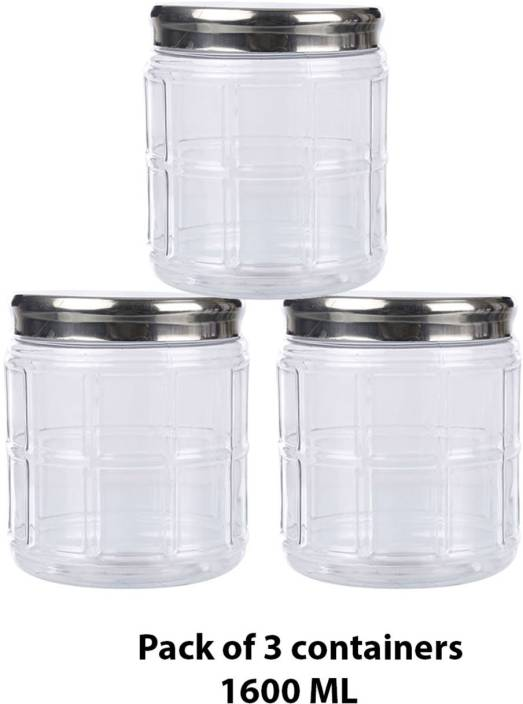3158370d4 Cello Kitchen Storage Plastic Container Set - 1600 ml Plastic Grocery  Container