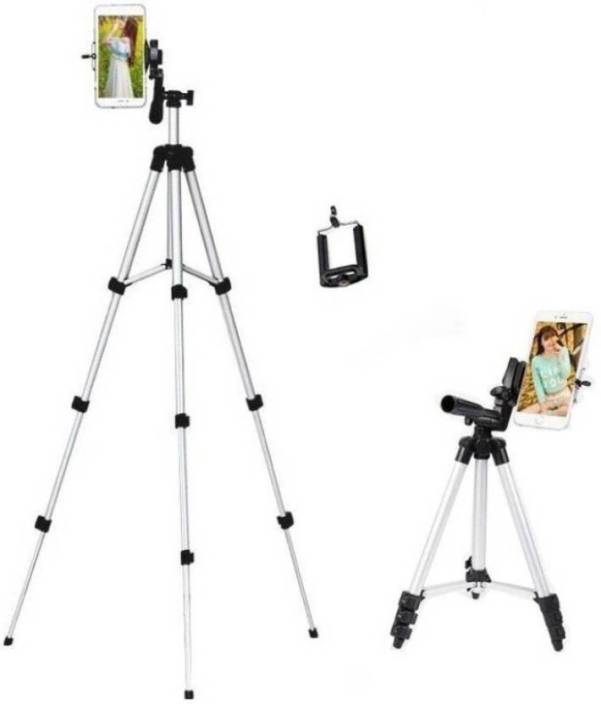 Syvo 3110 Tripod For DSLR Camera And Mobile , Fully Flexible Mount Cum Tripod Stand (Supports Up to 1000 g) Tripod