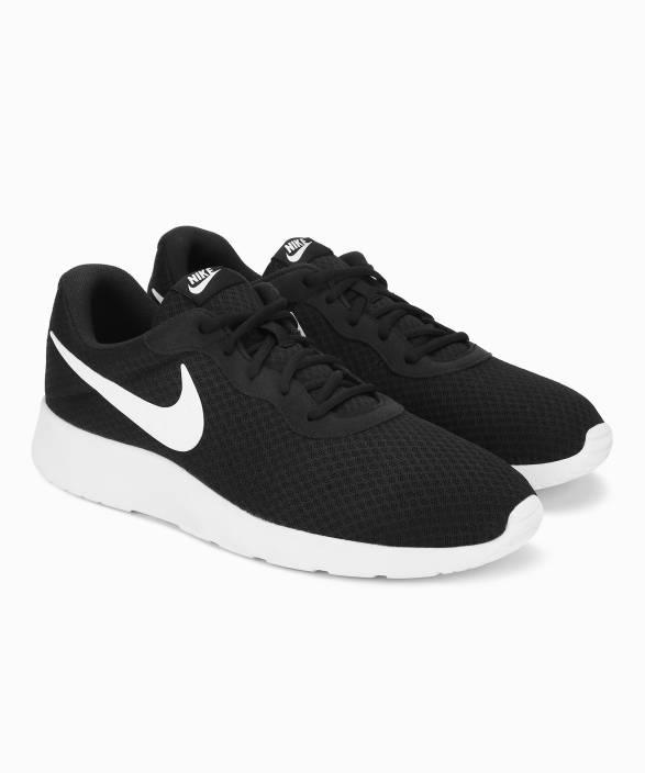 28935ea74d5 Nike TANJUN Sneakers For Men - Buy BLACK WHITE Color Nike TANJUN ...
