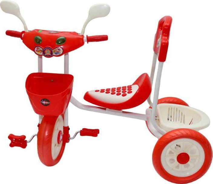 1973735b91d Oximus Baby Tricycle for Kids with Front Back BaskeRecommended for Toddler  1,2,3,4,5 ...