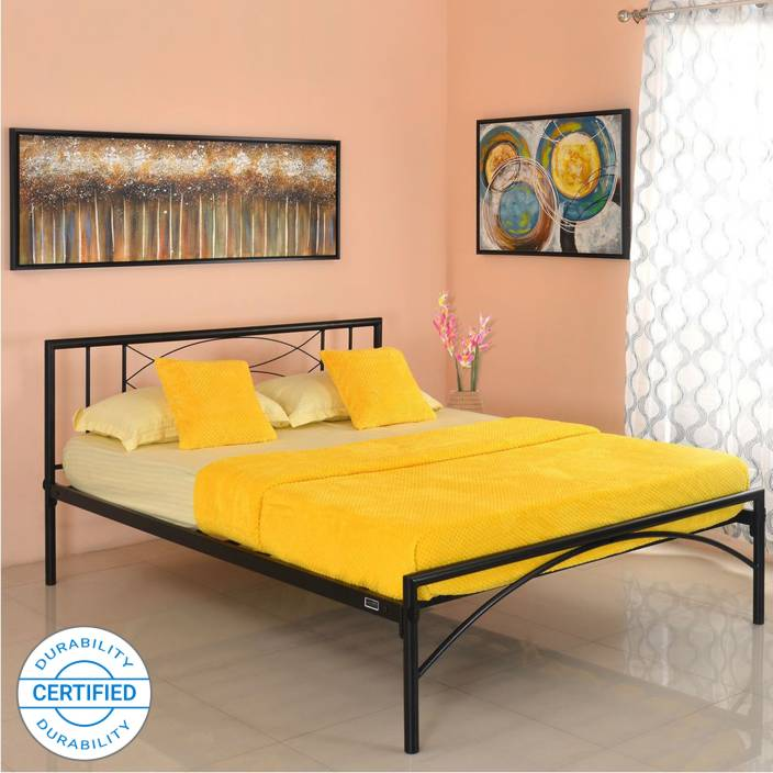 cb30b3c3f4b7 home by Nilkamal Ursa Metal Queen Bed Price in India - Buy  home by ...