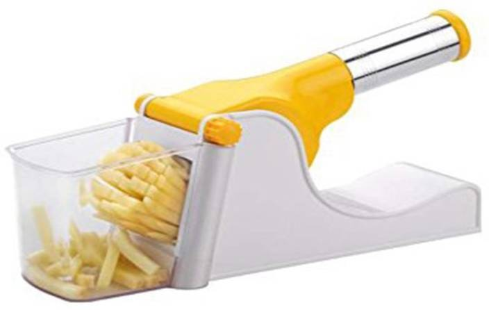 59a06553101 Ezee Potato Vegetable Chipser French Fries   Finger Chips Cutter   Potato  Chopper   Slicer With Container Potato Chopper (1 French Fry Potato Cutter)