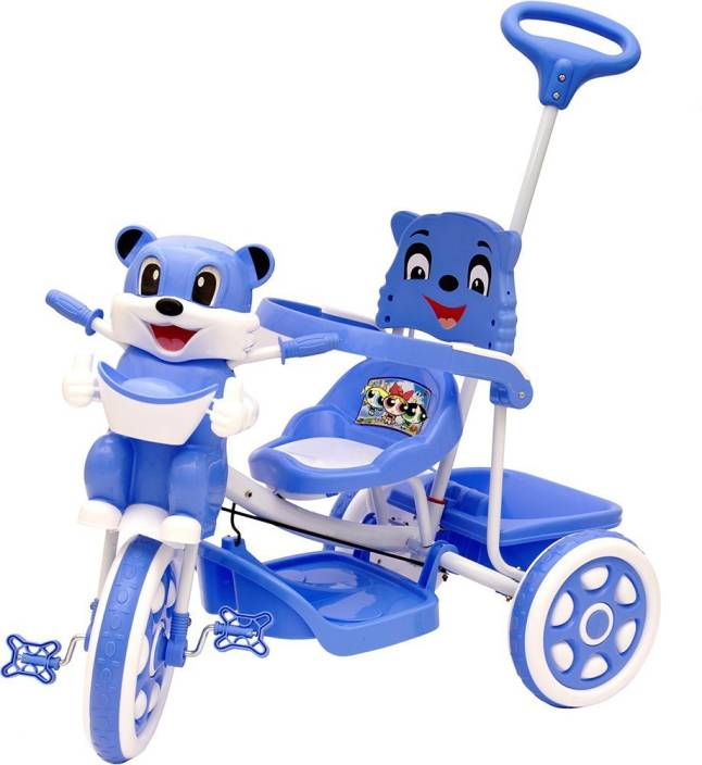 d3beb140da9 Oximus Baby Tricycle for Kids with Front Back Basket & Push Parent Handle  Recommended for Toddler 1,2,3,4,5 Years Old Children Tricycle for Baby Boys  ...