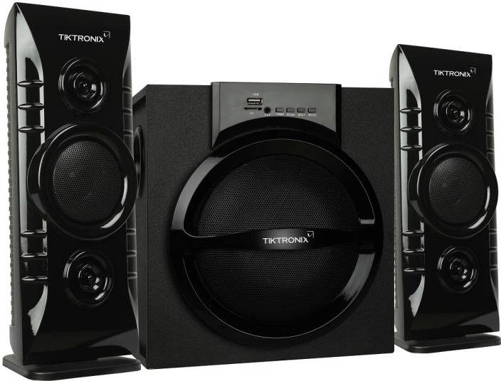 60383a93b0b Tiktronix tick for tech 2.1 Multimedia Home Theater Speaker System with  45w