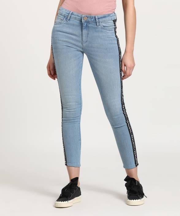 5d20896812e87 Tokyo Talkies Super Skinny Women's Blue Jeans - Buy Tokyo Talkies Super  Skinny Women's Blue Jeans Online at Best Prices in India | Flipkart.com