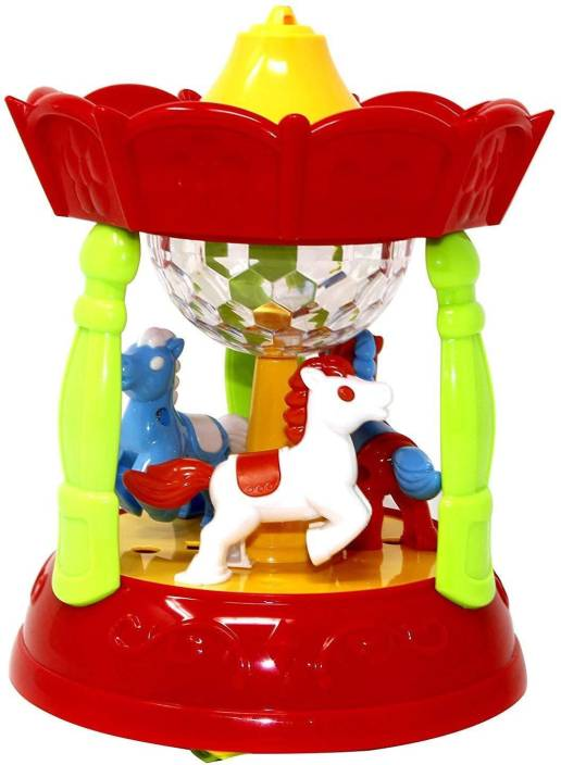 3e715dd74c2eaf Baby Tintin Merry-Go-Round with Light and Sound Carousel Toy (Multicolor)