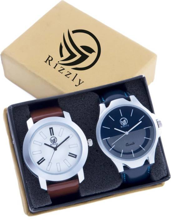 Rizzly Exclusive Smoky Grey Watch - For Men