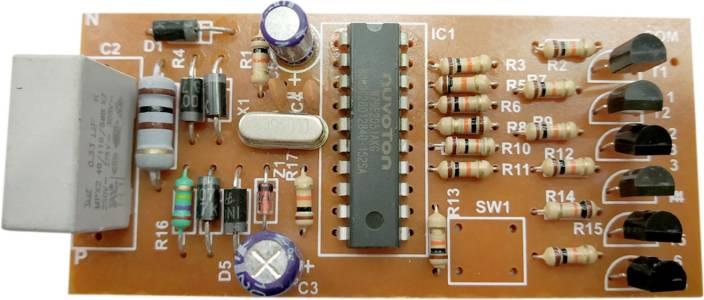 ESP Micro Controller based led light blinking circuit, led chaser