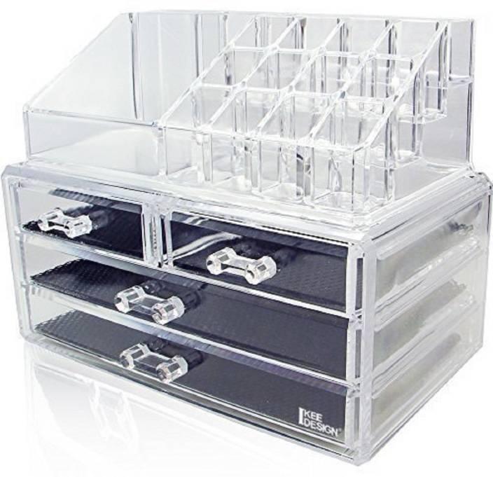 f6891a3af270 Buyerzone 16 Grid Lipstick Storage Box Acrylic Transparent Makeup ...