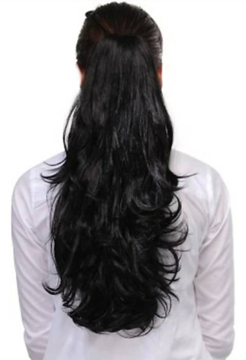 Alizz Smooth silky Step cut Clip on Clutcher hair wig for girls hair  extensions claw bun juda pony tail wig natural long hair wig stylish wig  artificial ... 949931c2d6