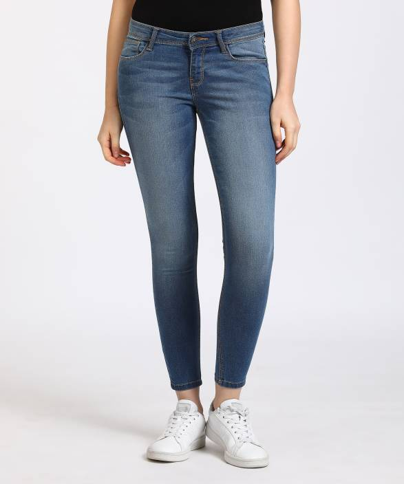 Jealous 21 Super Skinny Women's Blue Jeans