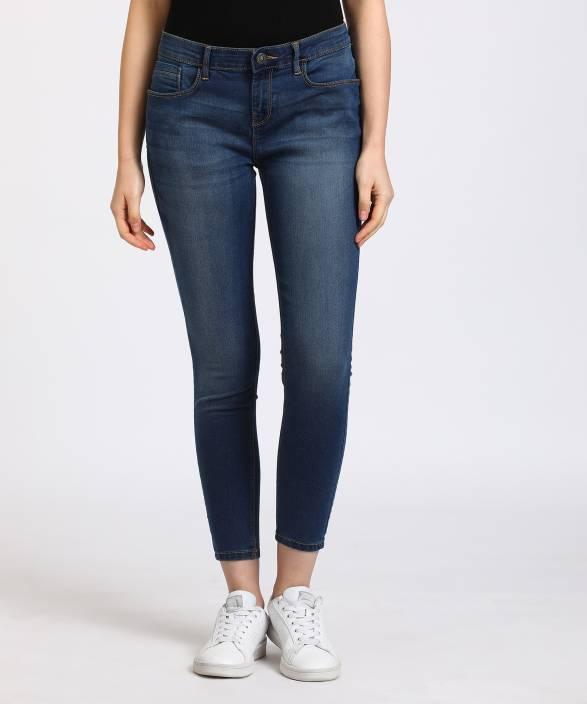 Jealous 21 Super Skinny Women's Blue Jeans