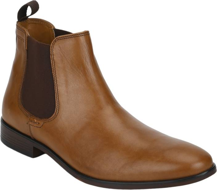 ebb7efccff8 Red Tape Leather Boots For Men