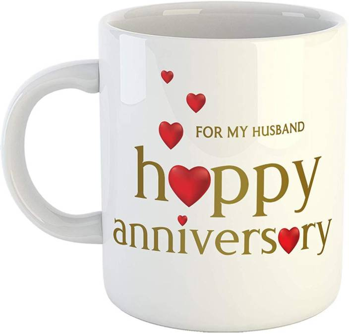 Ikraft Happy Anniversary For My Husband Quotes Coffeemug Anniversary