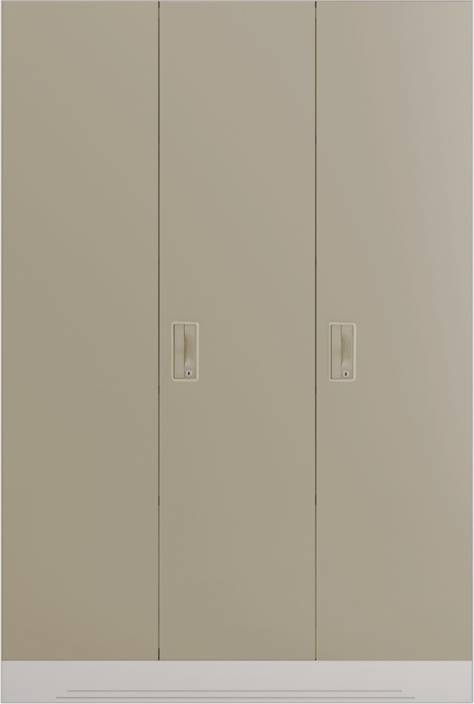 238b1cf9f77 Godrej Interio Slimline 3 Door With Locker and Drawer Metal Almirah (Finish  Color - Royal Ivory)