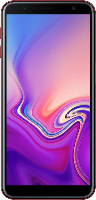 Samsung Galaxy J6 Plus (Red, 64 GB)
